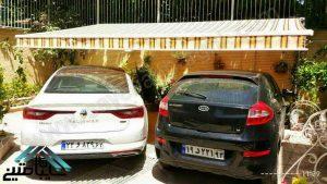 عدم وجود سایبان پارکینگ برای خودرو1